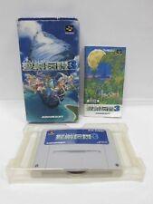SEIKEN DENSETSU 3 -- Boxed. Can backup. Super famicom, SNES. Japan game. 15448