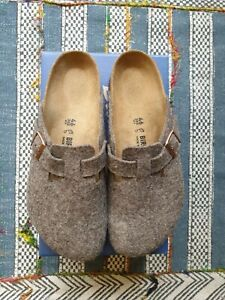 Birkenstock Boston Cacao Wool EU46 UK12