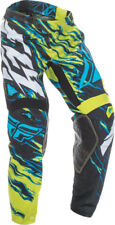 FLY RACING KINETIC RELAPSE PANT LIME/BLUE SZ 36 370-43536