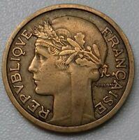 France. 1 Franc Morlon 1935 Bronze aluminium