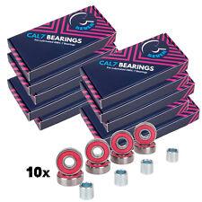 Cal 7 Abec-7 Precision Speed Roller Inline Skateboard Longboard 10 sets80 pcs