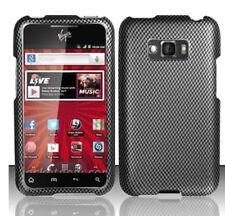 For LG Optimus Elite LS696 HARD Protector Case Phone Cover Carbon Fiber