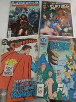 DC COMICS x2superman, wonder woman and justice league