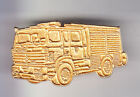 RARE PINS PIN'S .. POMPIER FIRE CAMION TRUCK RENAULT 3D OR DORE ~CO