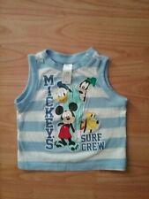 Mickey Mouse Disney T-Shirt 98 104 116 128 Junge Shirt kurzarm ärmellos Sommer