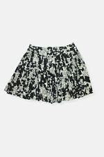French Connection black white star pleated short skirt Size 8 Womens