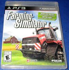Farming Simulator Sony PlayStation 3 *New! *Sealed! *Free Shipping!