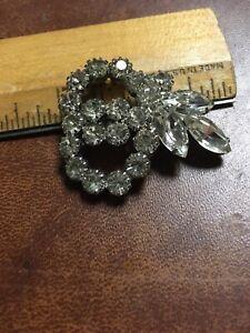 Vintage Rhinestone Pin