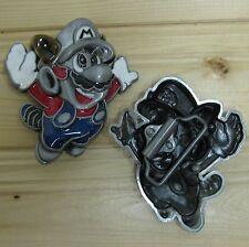 Mario Bros Nintendo cartoon belt buckle