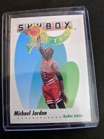 1991-92  MICHAEL JORDAN - Skybox Salutes Card # 572 - Chicago Bulls Nm