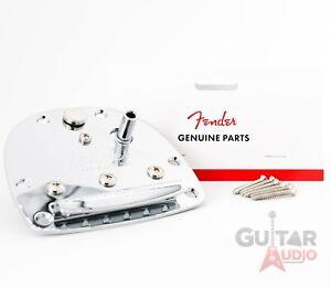 Genuine Fender Classic Player Jazzmaster/Jaguar Tremolo Tailpiece with Screws