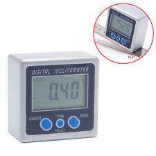 Digital Winkelmessgerät Mini Winkelmesser 360° Mit Magnete Basis Neigungsmesser