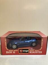 Bburago 1/18 Scale Diecast 3369 BMW M Roadster 1996 Blue Model Car