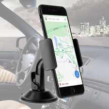 360° Universal Windshield Mount Car Holder Cradle For GPS Mobile Smart Phone