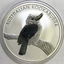 2010 Australian Kookaburra - 1oz Fine Silver - ORIGINAL PERTH MINT CAPSULE - BU