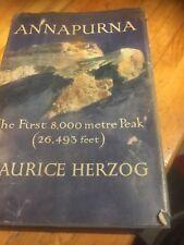 Annapurna - First 8000 Metres Peak Maurice Herzog 1952