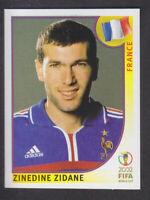 Panini - Korea Japan 2002 World Cup - # 38 Zinedine Zidane - France