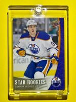 Connor McDavid ROOKIE 2015-16 UPPER DECK STAR ROOKIES HOT INVESTMENT RC - Mint!