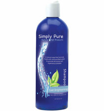 Simply Pure Coat Brightening Shampoo for Dogs whitens effortlessly 16oz