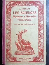 Scolaire ancien : Notions de sciences physiques et naturelles, 1930 (2908)