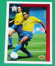 RARE FOOTBALL CARD UPPER DECK 1994 USA 94 FUTURE STARS ELIVELTON BRESIL BRASIL
