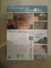 14435 COFFRET 3 DVD HERITAGE DU MONDE LES 50 PLUS BEAUX SITES DE LA PLANETE NEUF