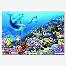 REEF PALS  1000Pc Puzzle  Dolphins Nautical   EDUCA