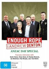 Enough Rope With Andrew Denton - Anzac Day Special (DVD, 2006)