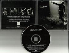 COLDPLAY Ultra Rare PROMO DJ ADVNCE Live 2003 USA MINT CD Dpro7087618217