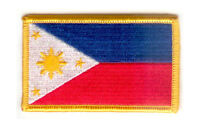 PHILIPPINES FLAG PATCH PATCHES BADGE IRON ON NEW EMBROIDERED