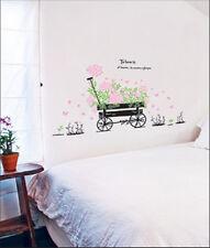 Wandtattoo Wandsticker Wohnzimmer Blumen Schmetterling Möbel 8teilig Neu