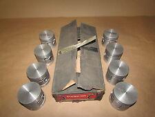 Thompson Piston Set 1932-1936 Ford Flathead V8 3-Ring 1469P-040 L646F +.040 NOS