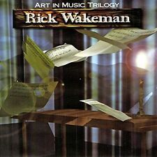 RICK WAKEMAN - THE ART IN MUSIC TRILOGY NEW CD