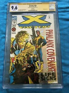 X-Factor #106 - Marvel - CGC SS 9.6 NM+ - Signed by Jan Duursema