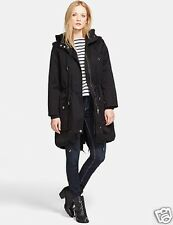 new MARC BY MARC JACOBS CLASSIC Hooded Cotton Anorak Parka Jacket in BLACK M