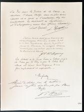 1926 - Lithographie citation Général Rucquoy, Baron Empain, Maglinse, Gillain