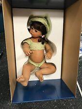 Monika Levenig Porzellan Puppe 45 cm. Top Zustand