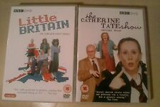 LITTLE BRITAIN/CATHERINE TATE. 2 x comedy dvd pack.  Both brand new.