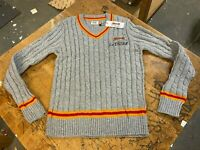 Le Tigre Sweater Potter Ivy League Preppy Style 80's knit New Tan Tags S to XXL
