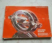 Ascona Manta