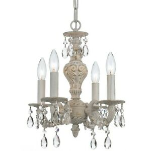 Crystorama Sutton Crystal Spectra Crystal Convert. Chandelier 5024-AW-CL-SAQ