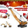 Mini Car Model Engineering Construction Truck Crane Excavator Digger Toys  Y