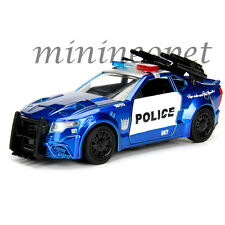 JADA 98394 TRANSFORMERS 5 BARRICADE CUSTOM POLICE CAR 1/32 DIECAST BLUE
