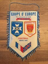 Pennant: Auxerre V Arsenal 1994/95 ECWC