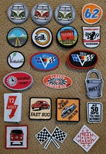 Embroidered Patches (SMALL) - (Sold Individually)