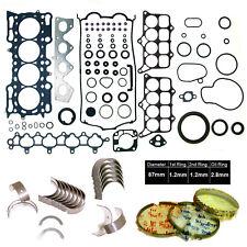 Gasket Engine Rebuild RE-RING KIT 97-01 Honda Prelude 2.2L H22A4 DOHC 16V VTec