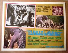 VALLEY OF GWANGI Mexican LOBBY CARD '69 RARE!