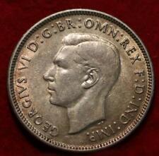1943 Australia Florin Silver Foreign Coin