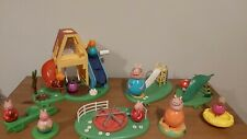 Peppa Pig Weebles Playset Bundle-Wind & Wobble Tree House, jugar Park, Figuras