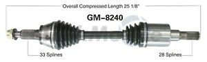 For Hummer H3  H3T Front Right CV Axle Shaft Surtrak GM8240